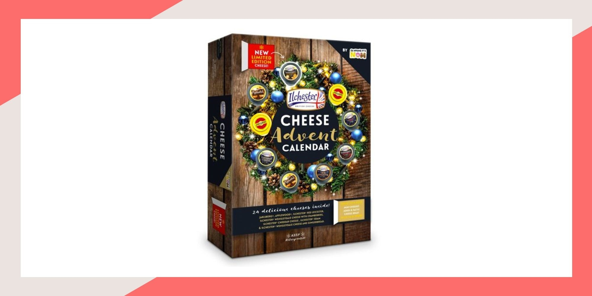 Sainsbury's Launches A Cheese Advent Calendar For 2018, And  Beauty Advent Calendar 2020 John Lewis Contents