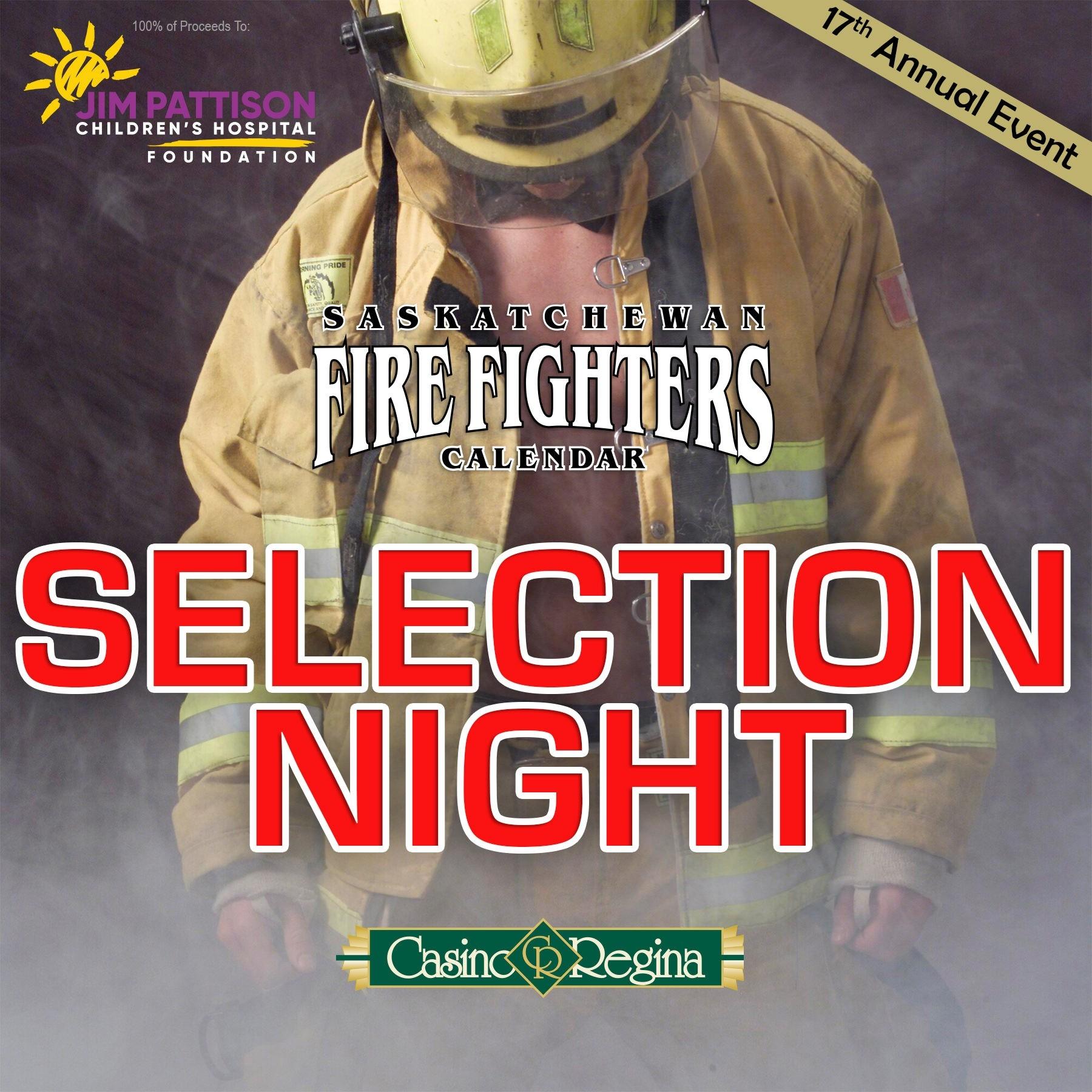 Saskatchewan Firefighters Calendar Selection Night ⋆ Jim  Fire Department Schedule Calendar 2020