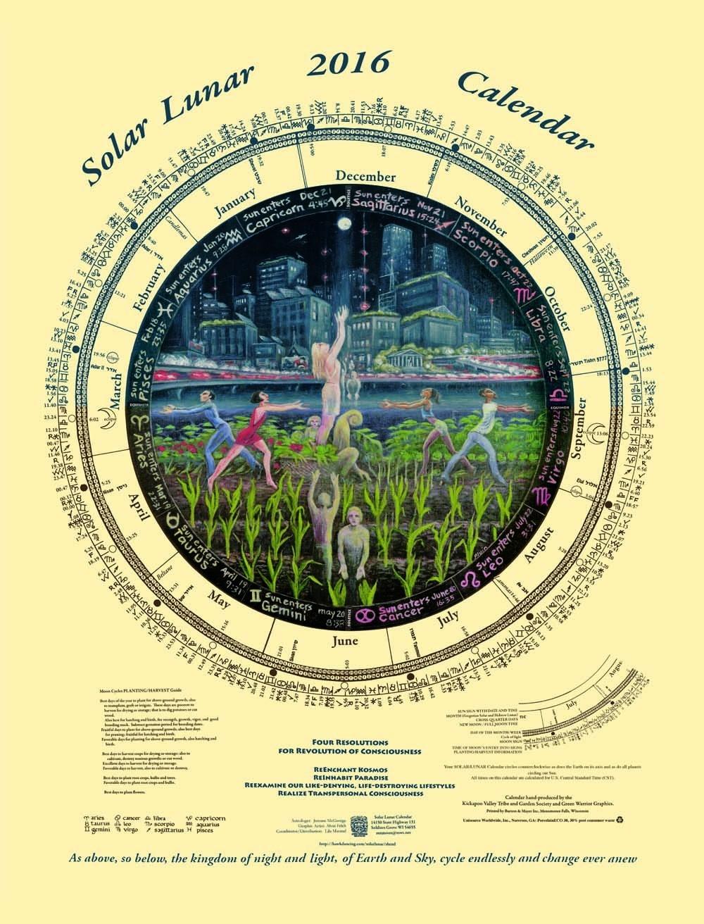 Solar/lunar Calendar  Lunar Calendar And Solar Calendar