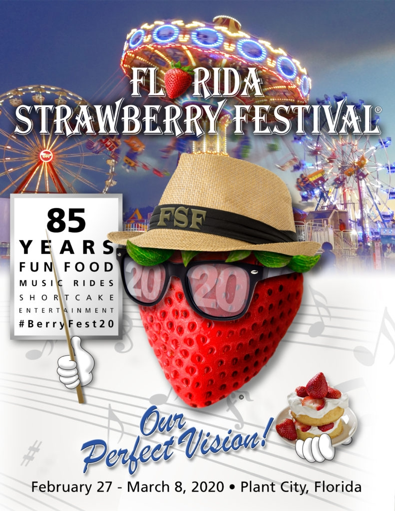 The Florida Strawberry Festival Announces Theme For 2020  Depo Provera Calendar For  8/2020
