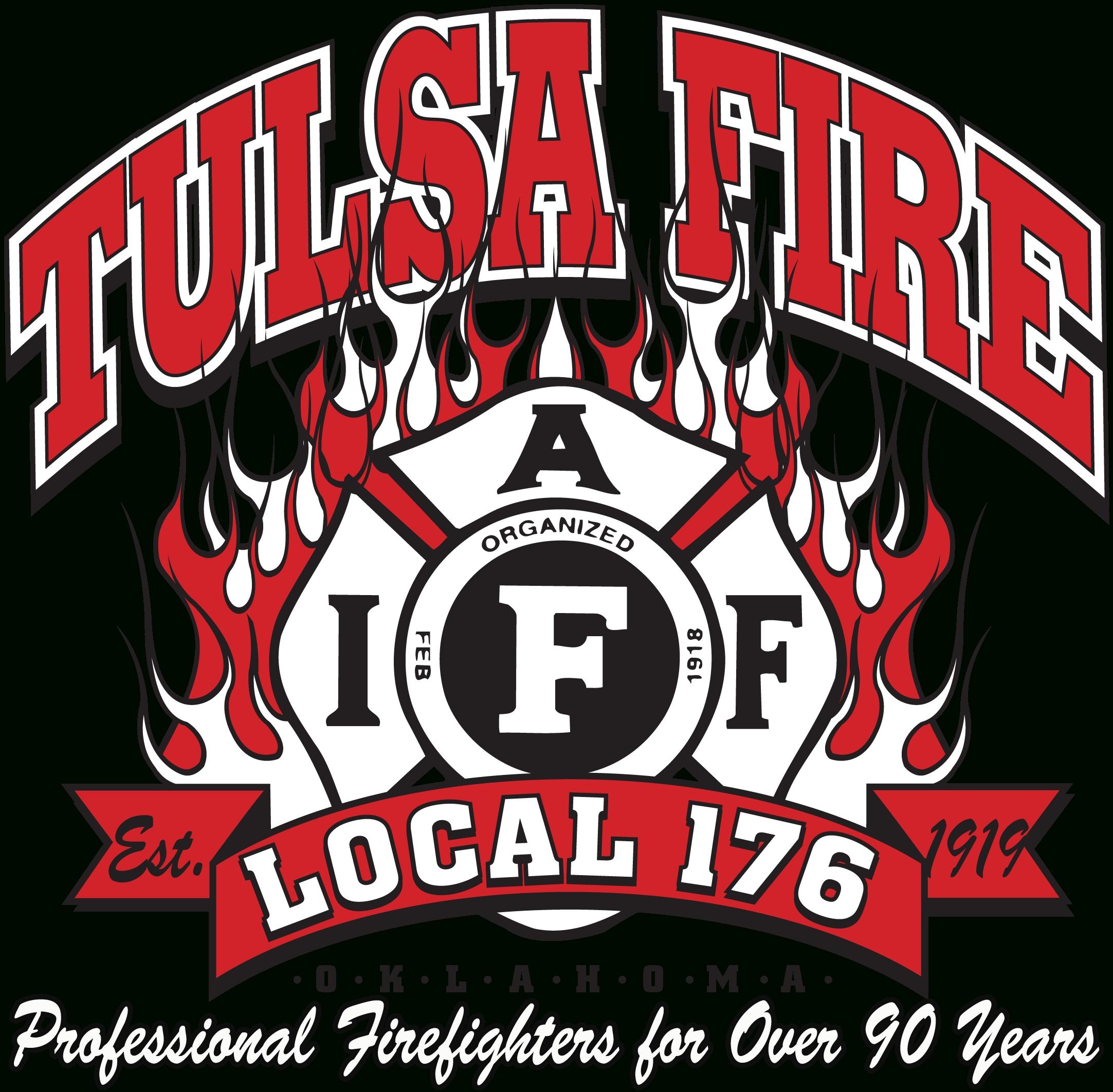 Tulsa Fire Fighters  Fire Department Schedule Calendar 2020