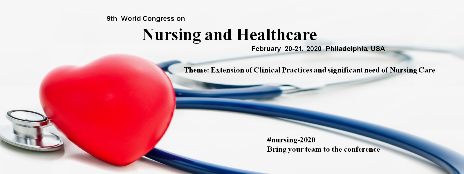 World Congress On Nursing And Healthcare | Nursing-2020  Healthcare Recognition 2020