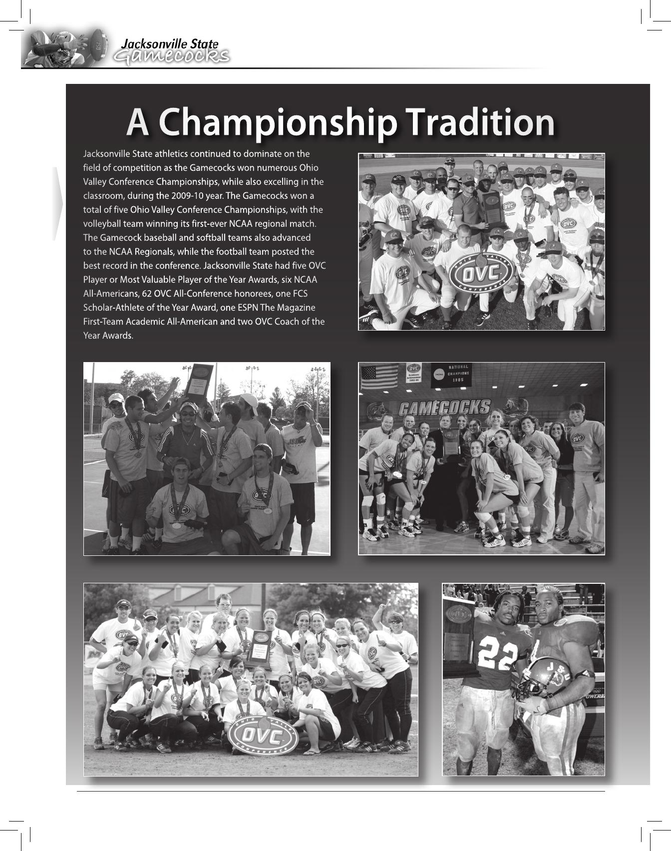 2010 Jacksonville State Football Media Guide - [Pdf Document]  Julian Code 17:511999
