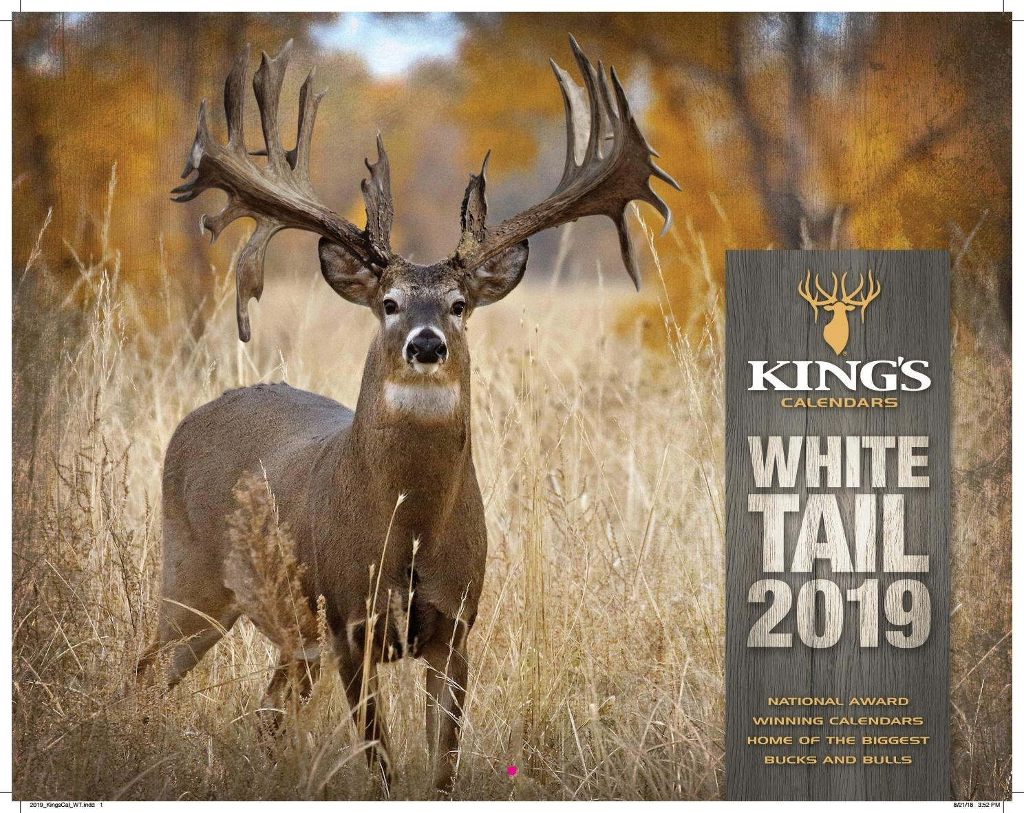 2019 King's Whitetail Calendarking's Camo - Issuu  Legendary Whitetails Calendar 2020