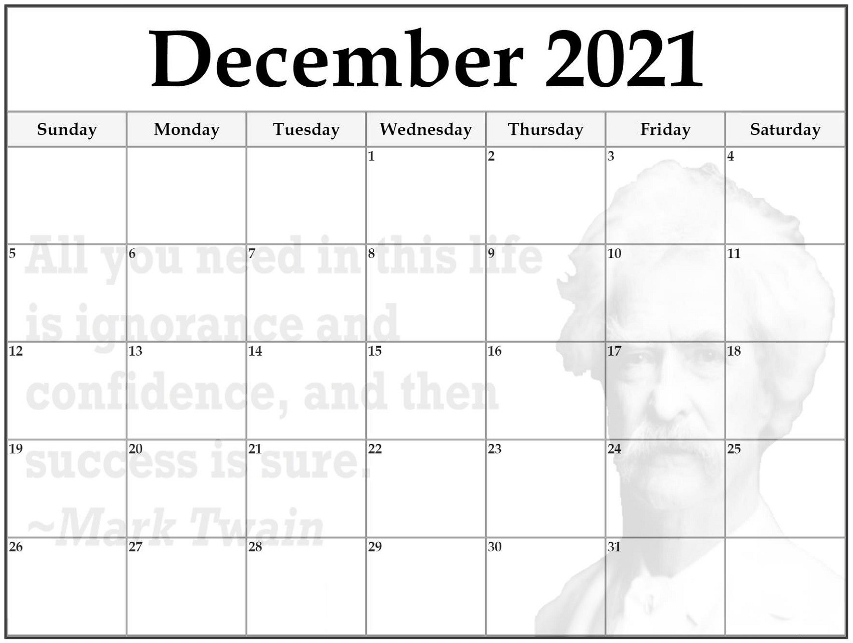 2021 Calendar Planner Printable Free To Take | Calendar Shelter  Free Monthly Calendar Template 2021