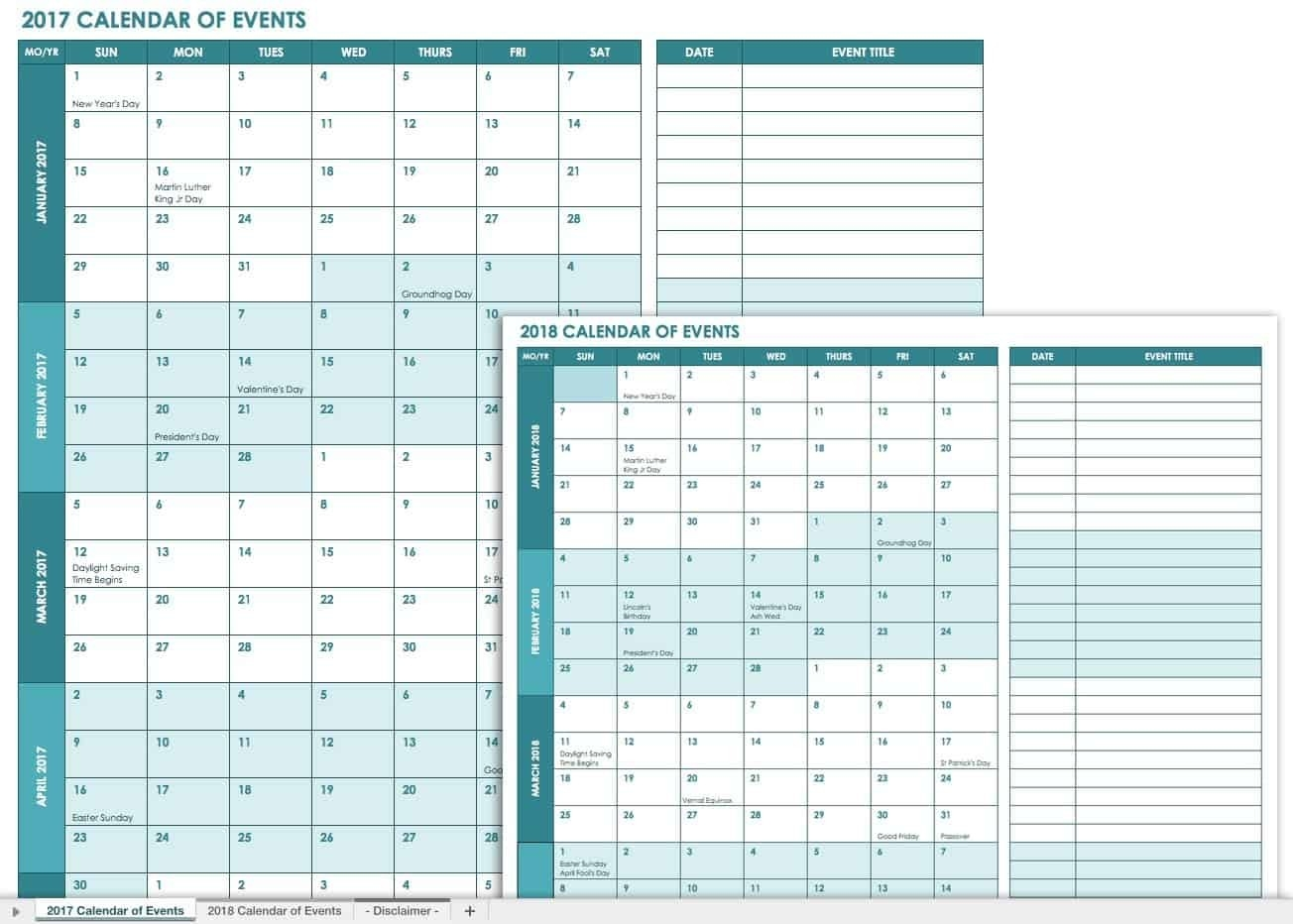 21 Free Event Planning Templates | Smartsheet  Event Management Template Excel