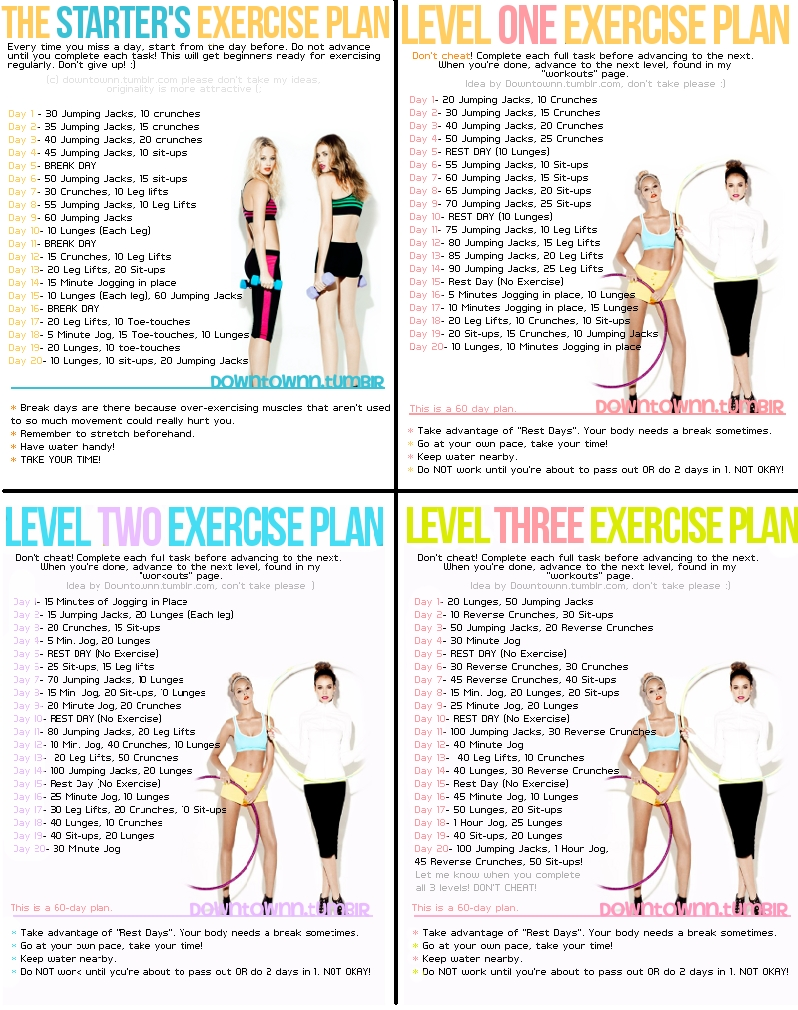 3 Ways To Add More Fun To Your Fitness | Fun Workouts  30 Exercise Chart For Beginners