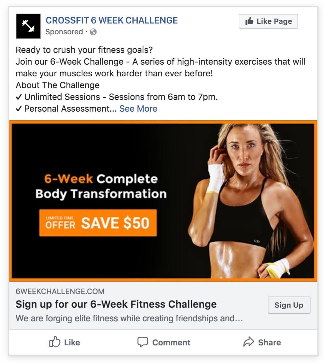6-Week Challenge | Wishpond  Fitness Challenge Templates