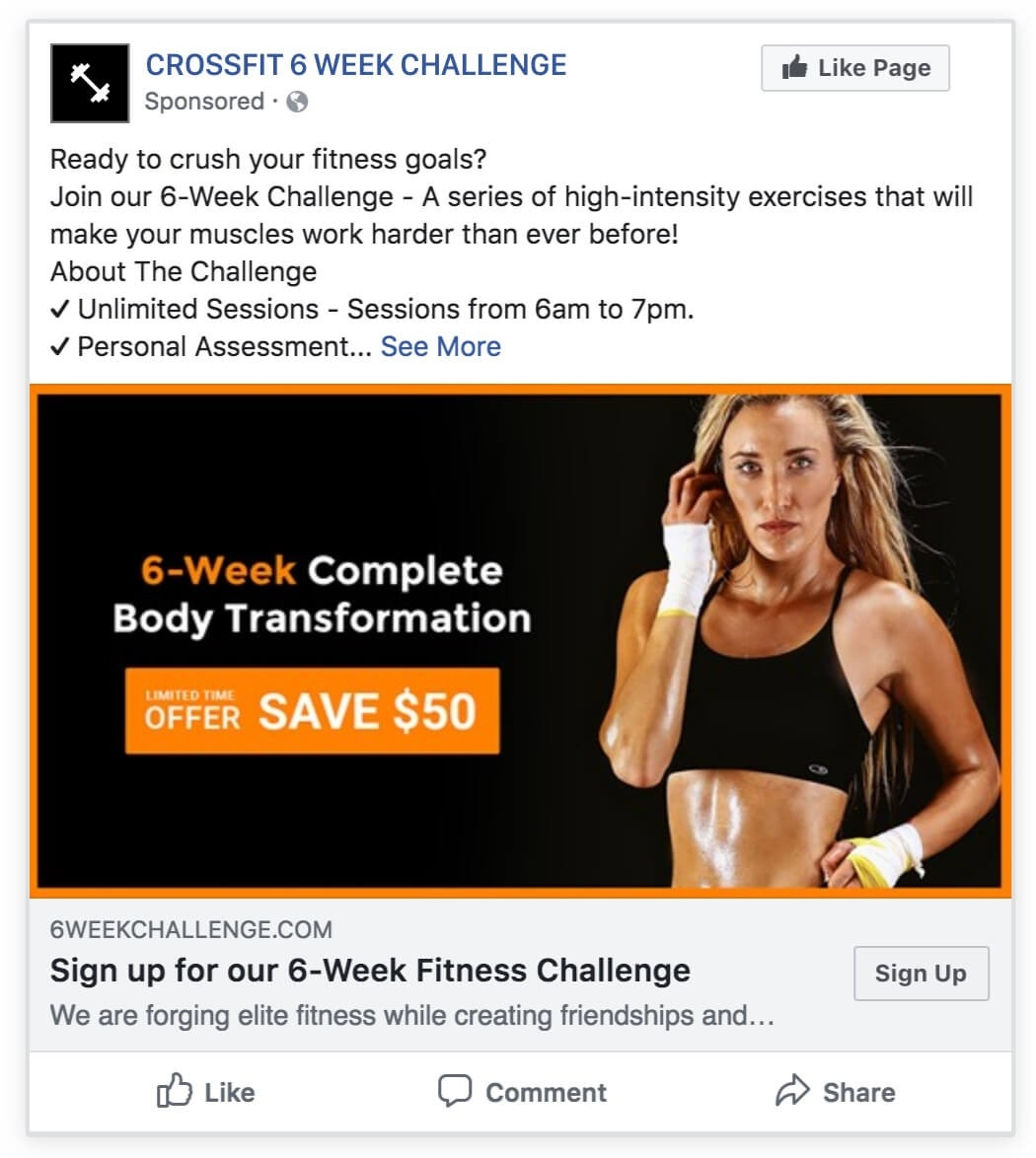 6-Week Challenge | Wishpond  Free Fitness Challenge Templates