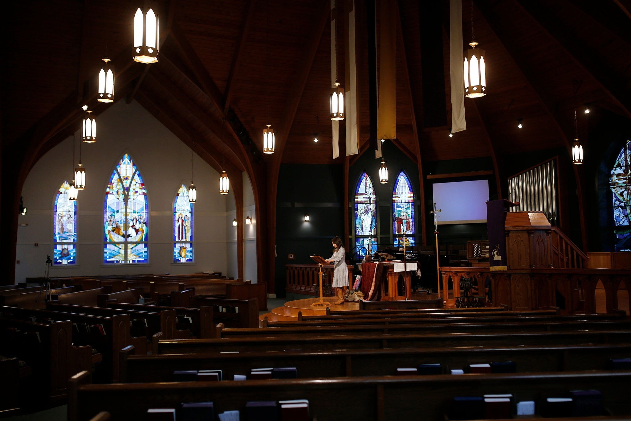 A Sunday Without Church: In Crisis, A Nation Asks, 'what Is  United Methodist Lirurgy For Sunday March15 2020