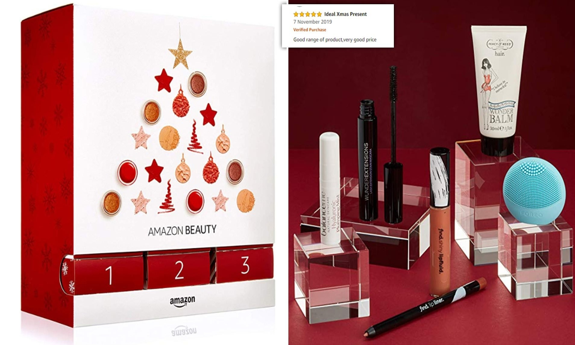 Amazon's £40 Beauty Advent Calendar Is Praisedfans Who  Elemis Advent Calendar For 2021