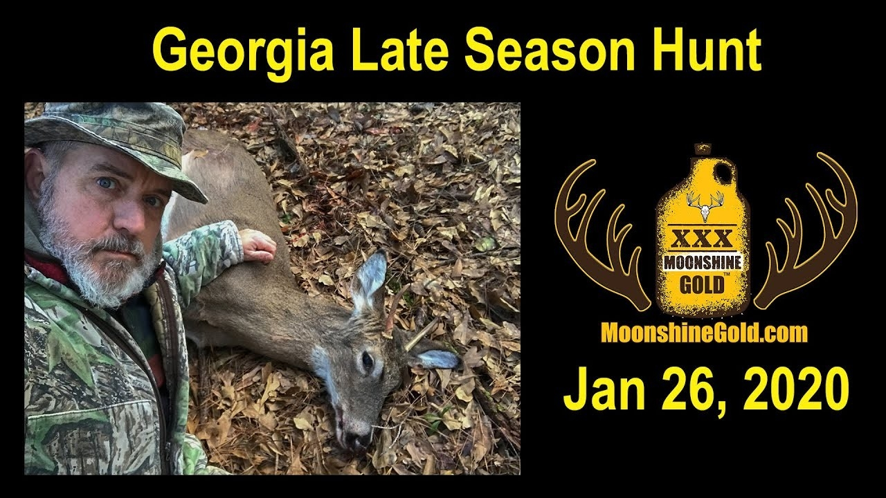 Archery Deer Hunt Georgia - January 2020  Deer Season For2020 For Georgia