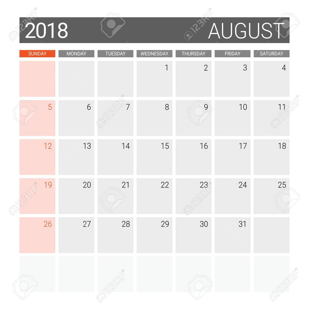 August Calendar Theme - Akali  Editable Baptist Calendar 2020 Printable