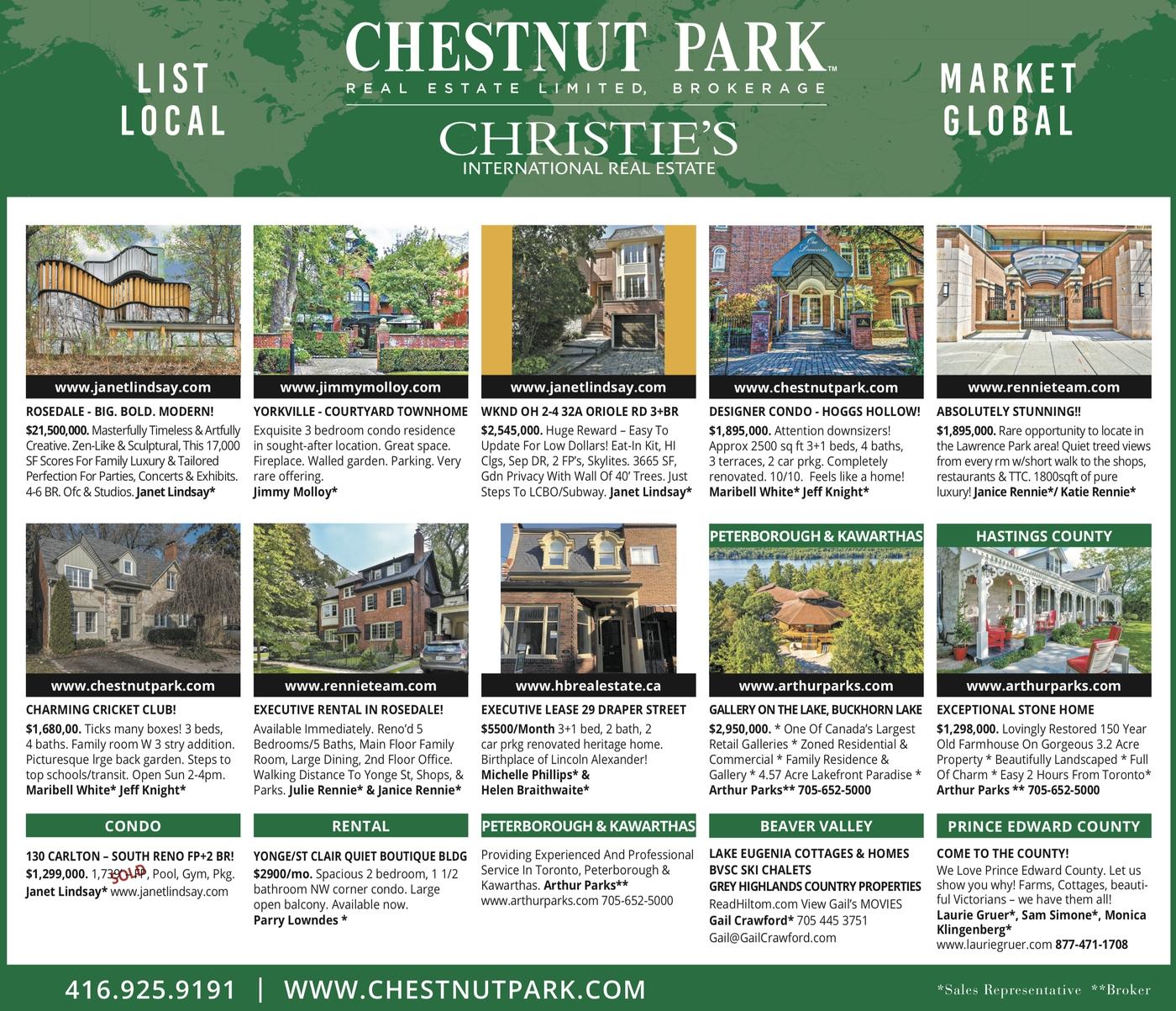 Chestnut Park In Print   Week Of January 10Th - Debbie Penzo  2020 Rut Calendar Talbot County
