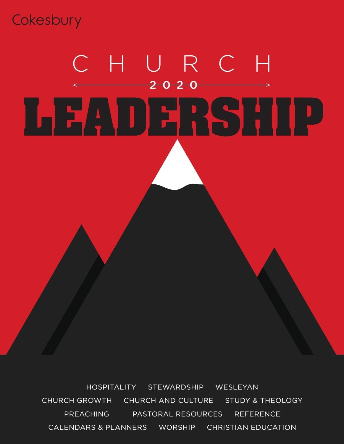 Cokebury's 2020 Church Leadership Catalogunited  Methodist Church Localpreacherslectionay 2020