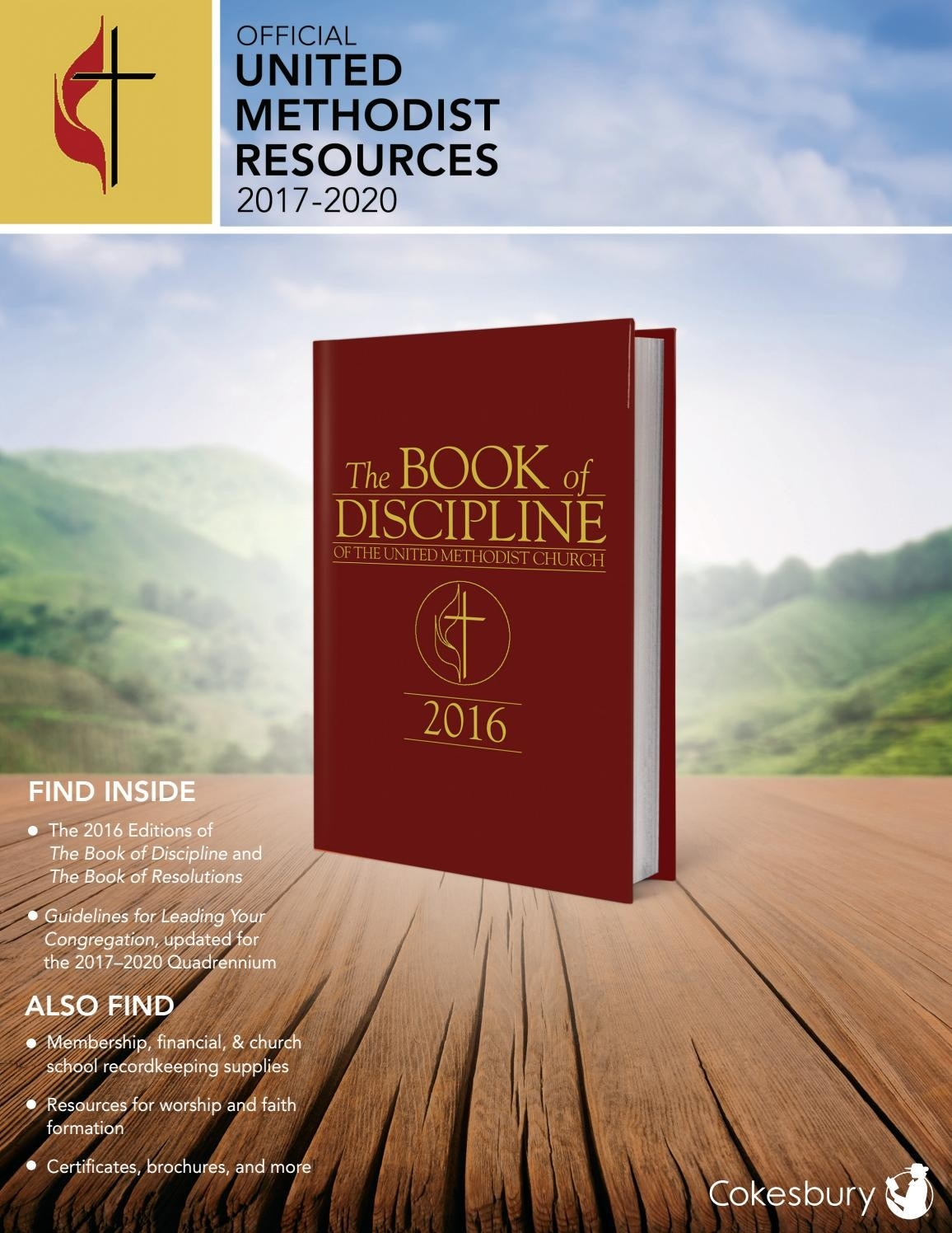Cokesbury's Official United Methodist Resources 2017-2020  Lectionary Of The Methodist Church 2020