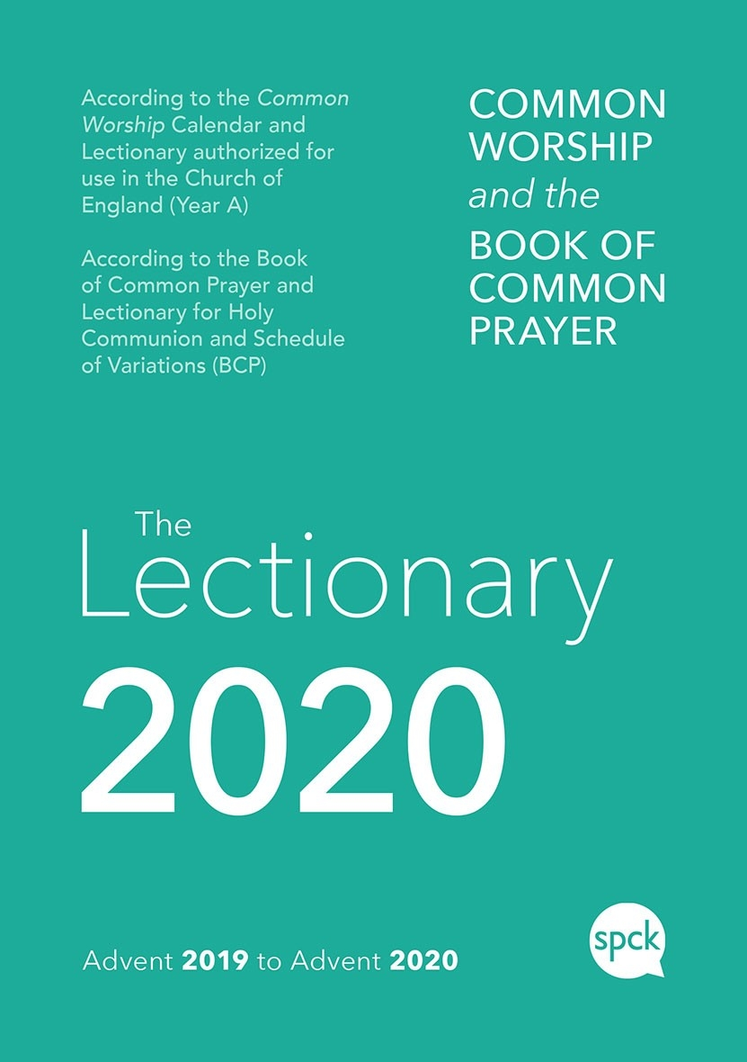 Common Worship Lectionary 2020 - Intervarsity Press  Lectionary 2020 Calendar