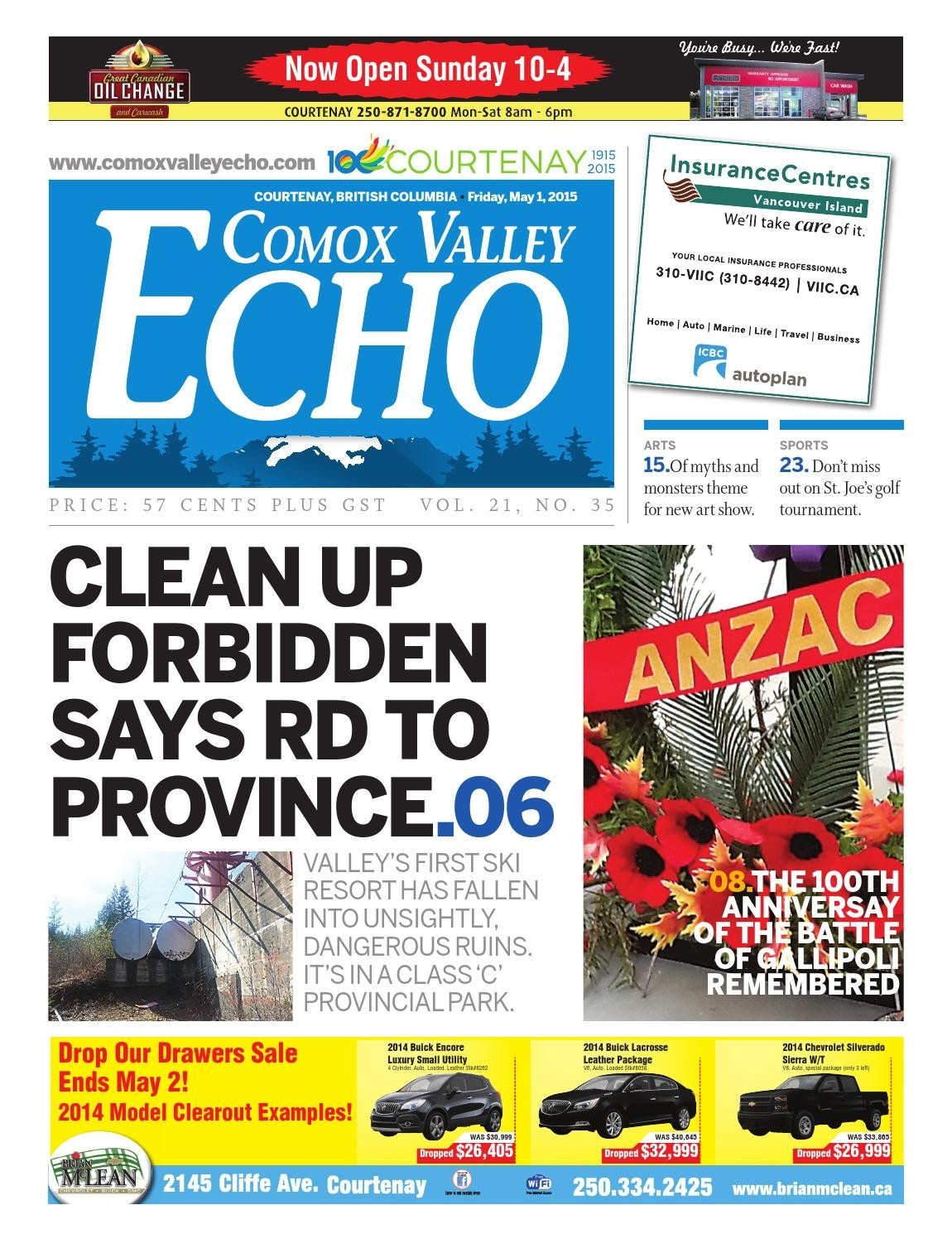 Comox Valley Echo - May 1, 2015Comox Valley Echo - Issuu  Julan Code 2021