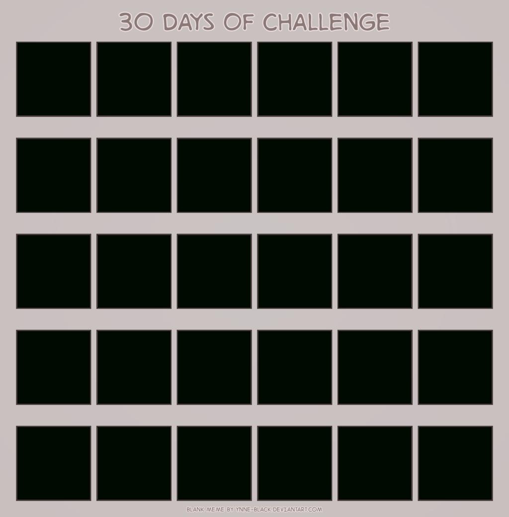 Download Blank Calendar Printable Mesmerizing 30 Www  30 Day Challenge Calendar