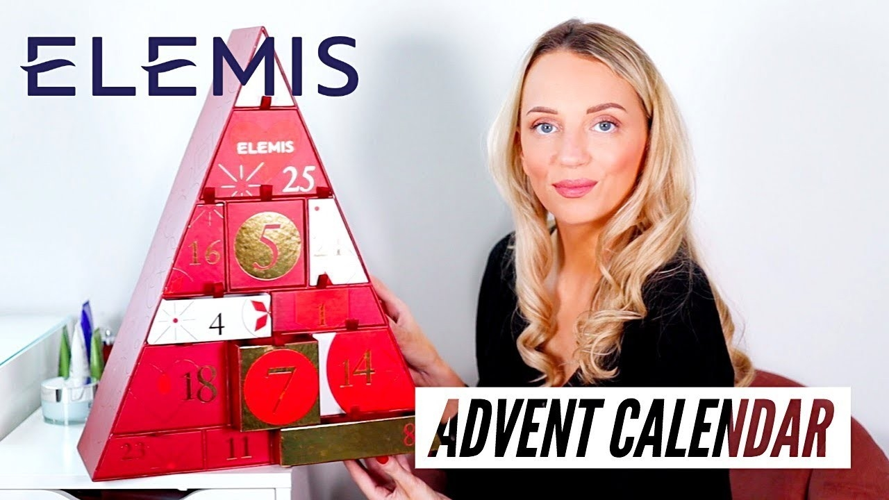 Elemis Beauty Advent Calendar 2019 Unboxing  Elemis Advent Calendar For 2021