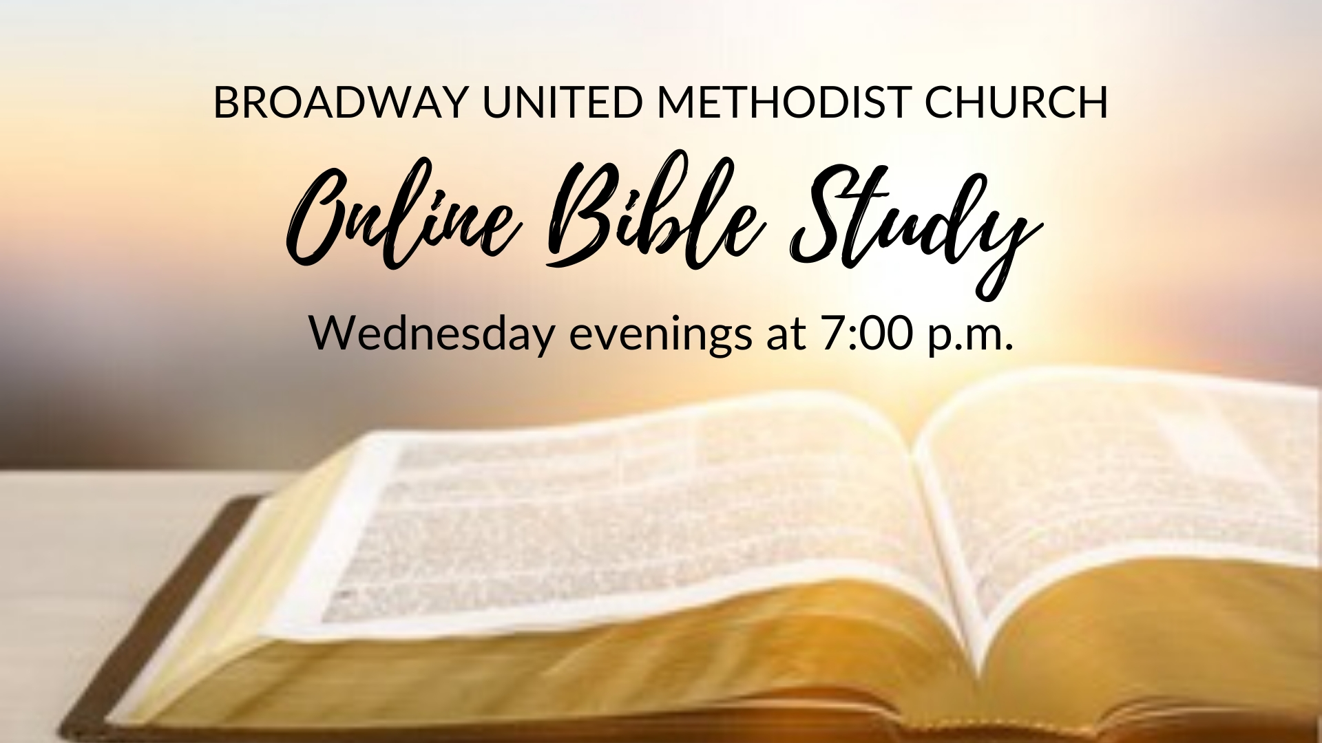 Events | Broadway United Methodist Church  Lectionary Readings United Methodist 2020