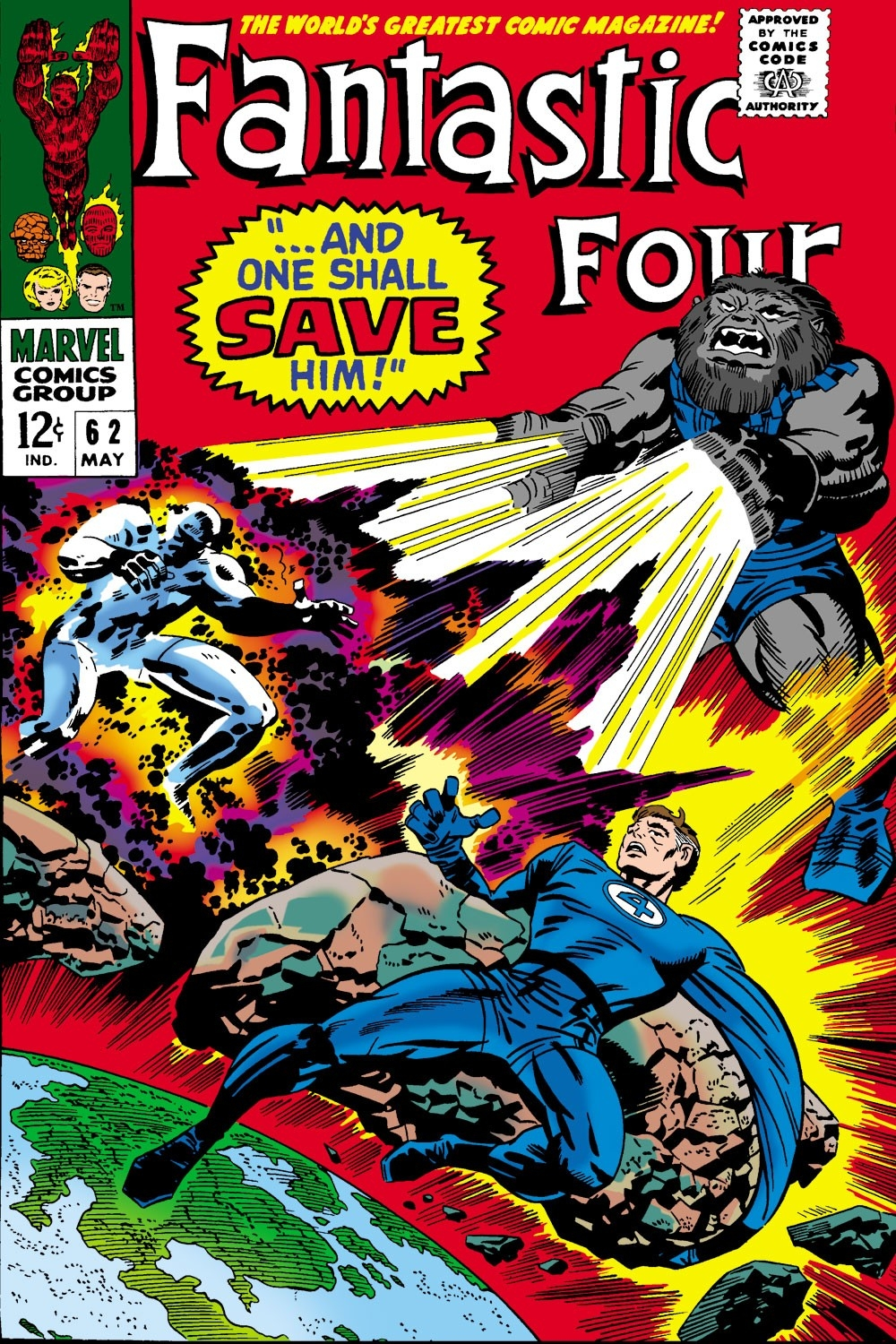 Fantastic Four (1961) #62 | Comic Issues | Marvel  Julan Code 2021