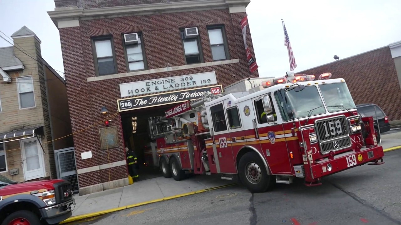 Fdny Tower Ladder 159 Responds To Box 3238  What Are The Nyfd Shifts