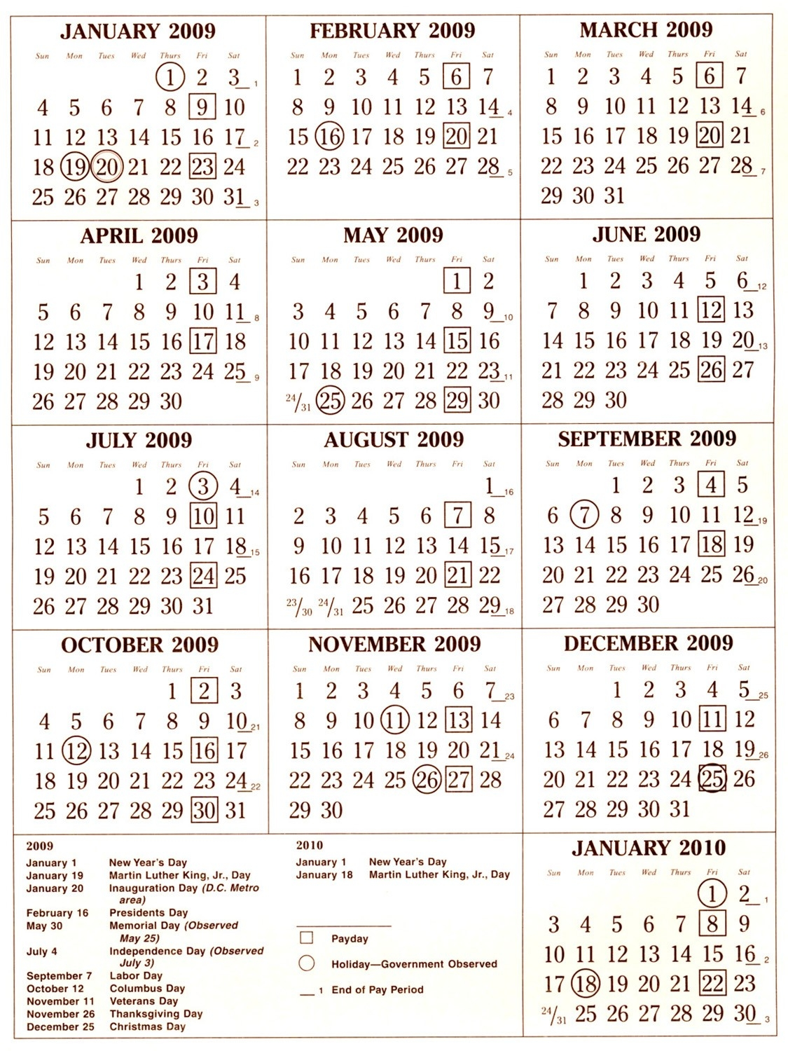 Federal Pay Period Calendar 2018 With Holidays | Payroll  Federal Pp Calendar 2020