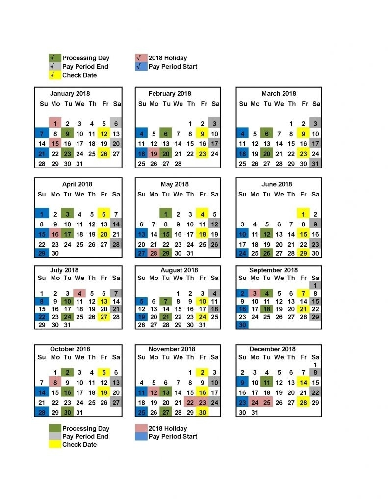 Federal Pay Period Calendar 2020 - Calendar Inspiration Design  2020 Federal Payroll Calendar Printable