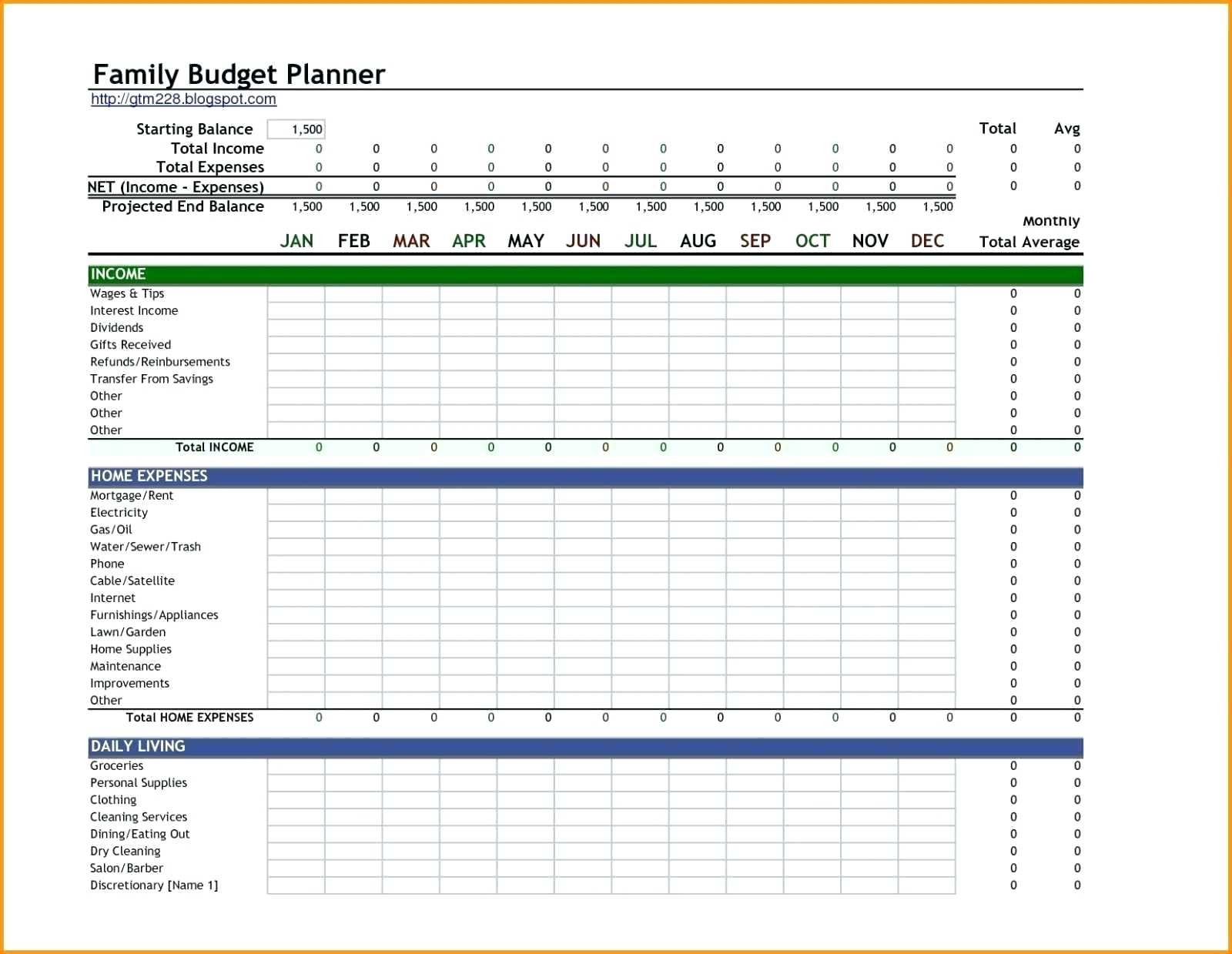 Financial Spreadsheet Personal Expense Diadeveloper Com  Free Monthly Spreadsheet Templates
