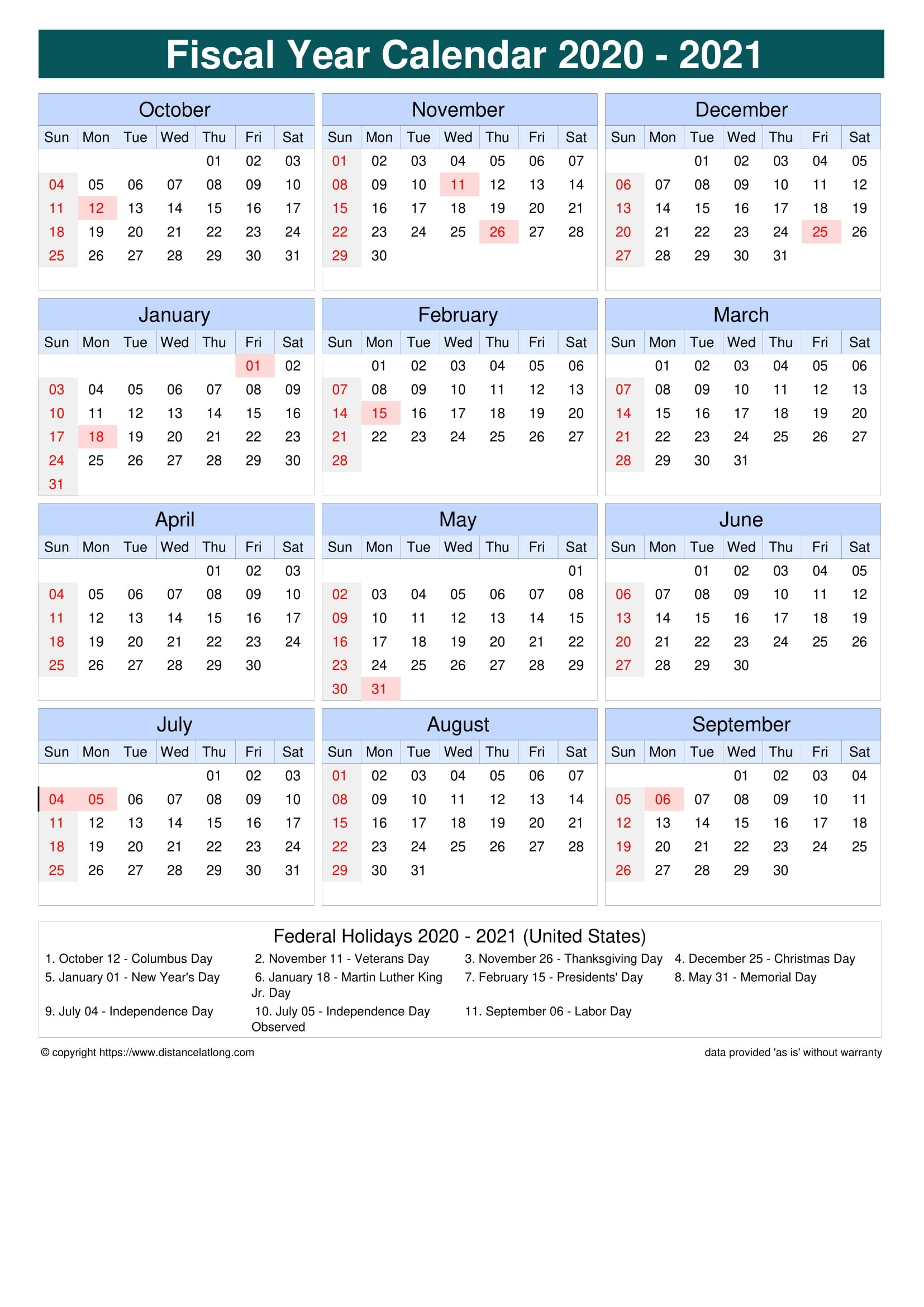 2021 19 Financial Calendar Printable - Template Calendar ...