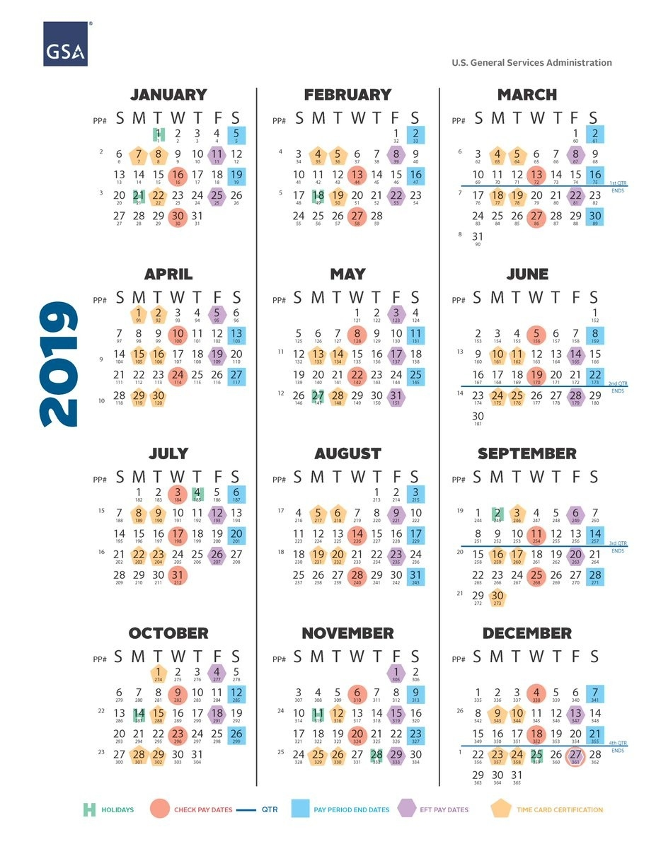 "Gsa On Twitter: ""check Out These Payroll Calendar Resources  2020 Government Payroll Calendar"