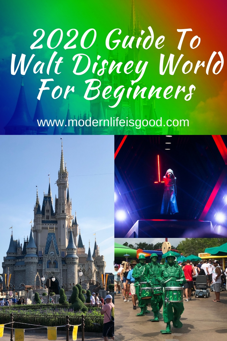 Guide To Walt Disney World For Beginners - Modern Life Is Good  Free Disney World Attraction Checklist 2020