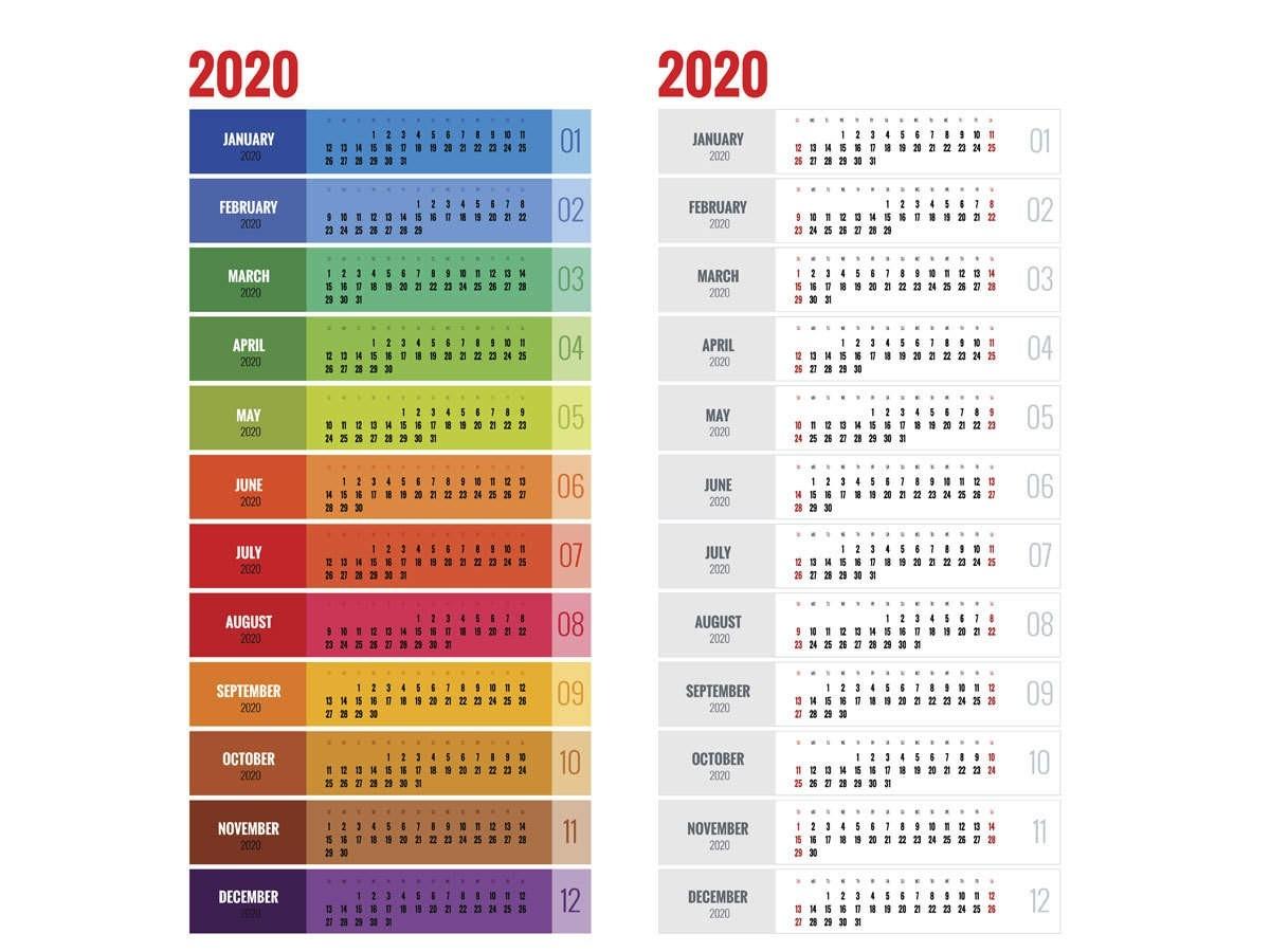 Income Tax Calendar For The Year 2020 | Income Tax Calendar  Calendar Last Financial Year