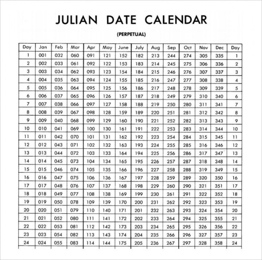 Julian Date Calendar 2020 | Calendar For Planning  Julian Day Calendar 2020