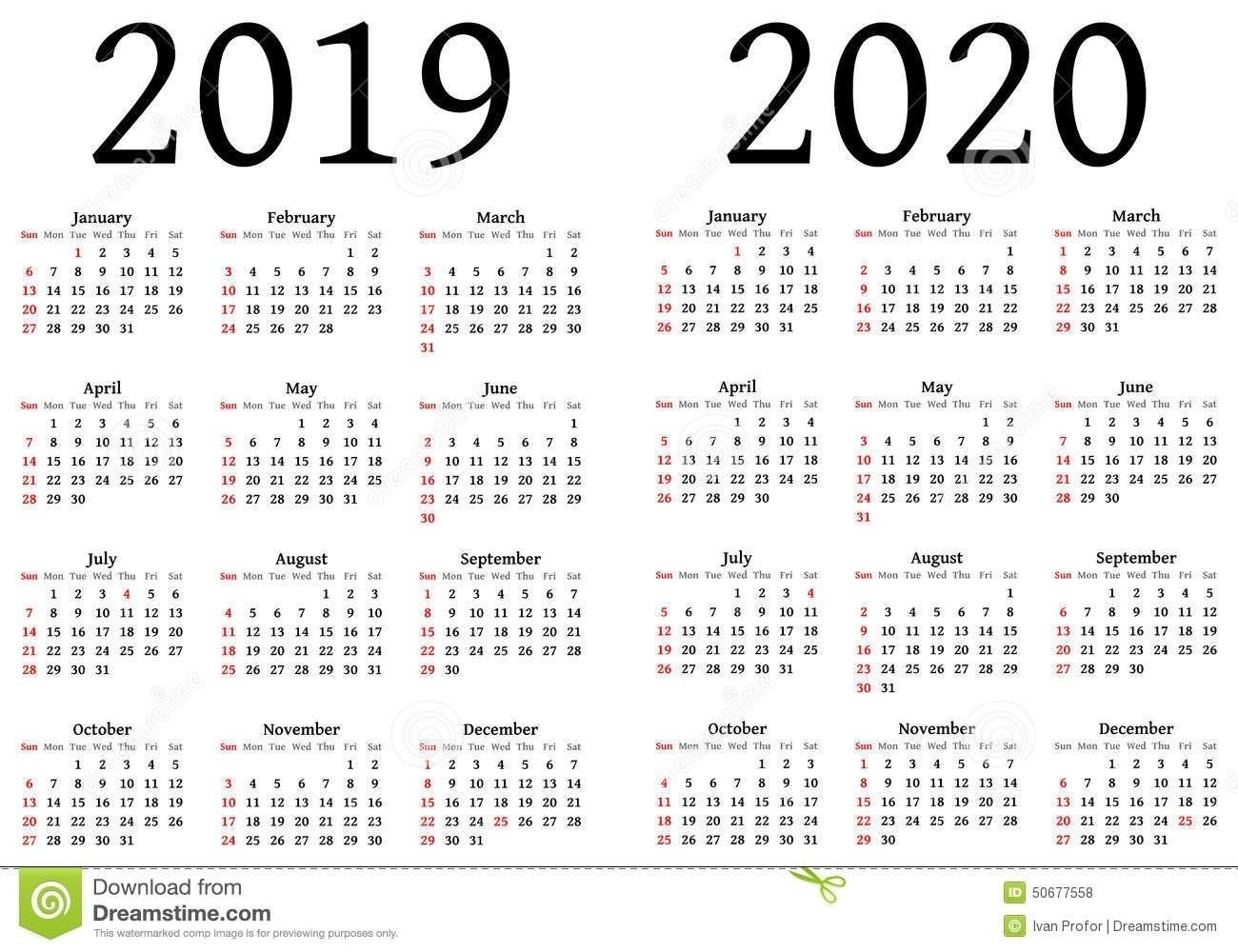Large Calendar 2019/2020 - Calendar Inspiration Design  Depo-Provera Calendar 2021