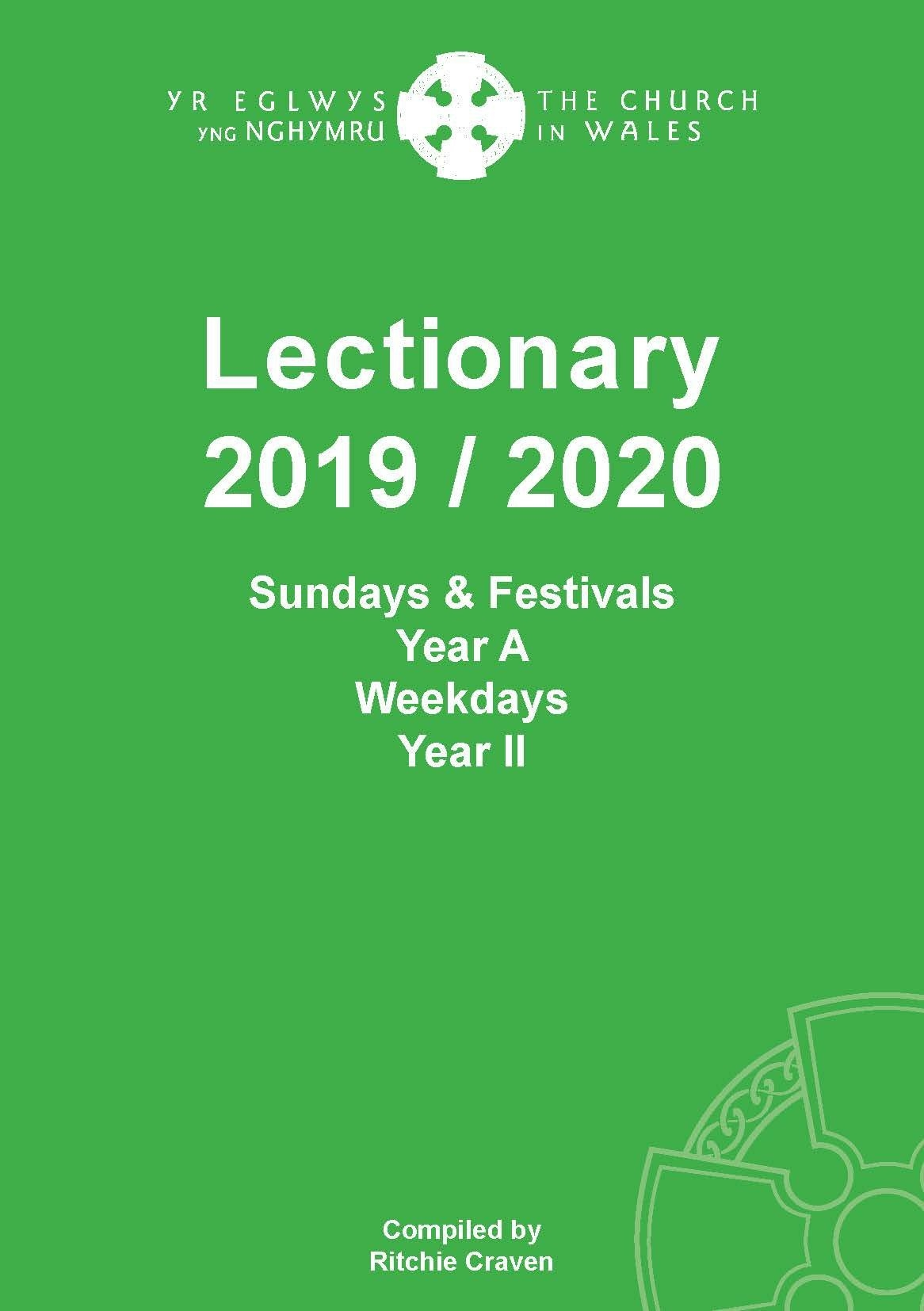 Lectionary - A - The Church In Wales  Lectionary Readings For 2020