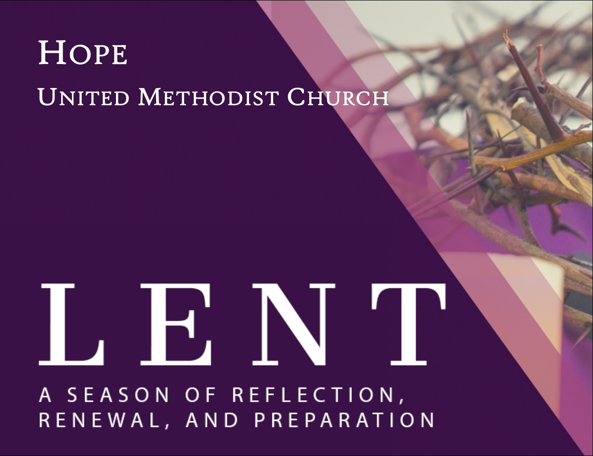 Lent 2020 Icon - Hope United Methodist Church  United Methodist 2020 Lent