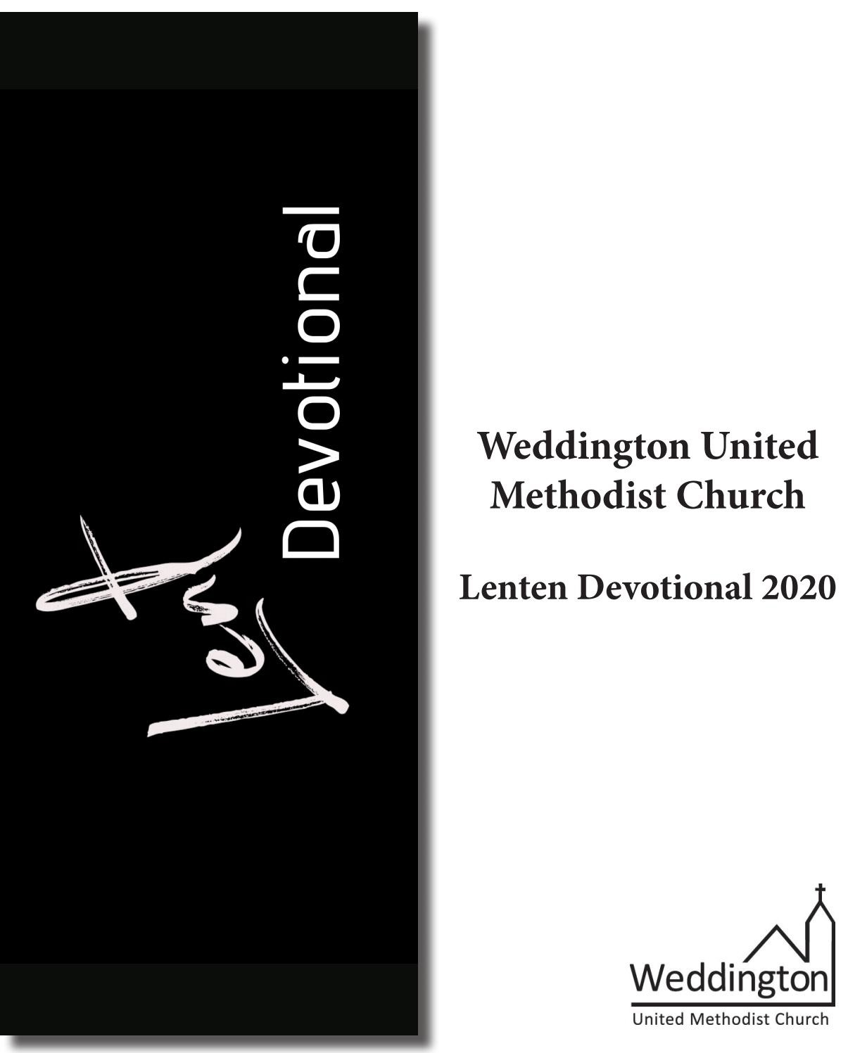 Lent Devotional 2020Weddington United Methodist Church  United Methodist 2020 Lent