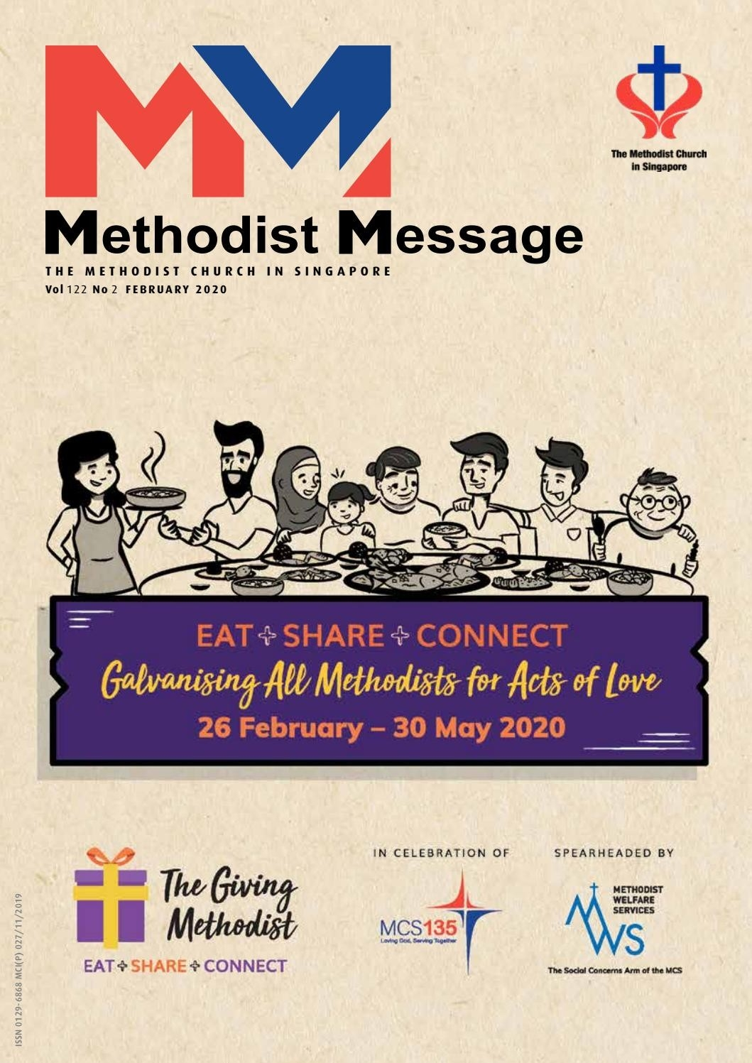 Methodist Message: February 2020Methodist Message - Issuu  Methodist Church Localpreacherslectionay 2020