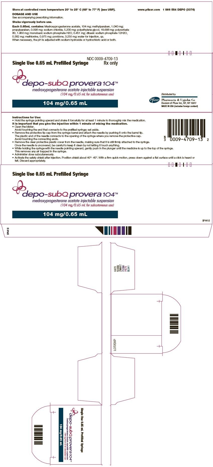 Ndc 0009-4709 Depo-Subq Provera Medroxyprogesterone Acetate  Ndc Code Depo Provera 2020