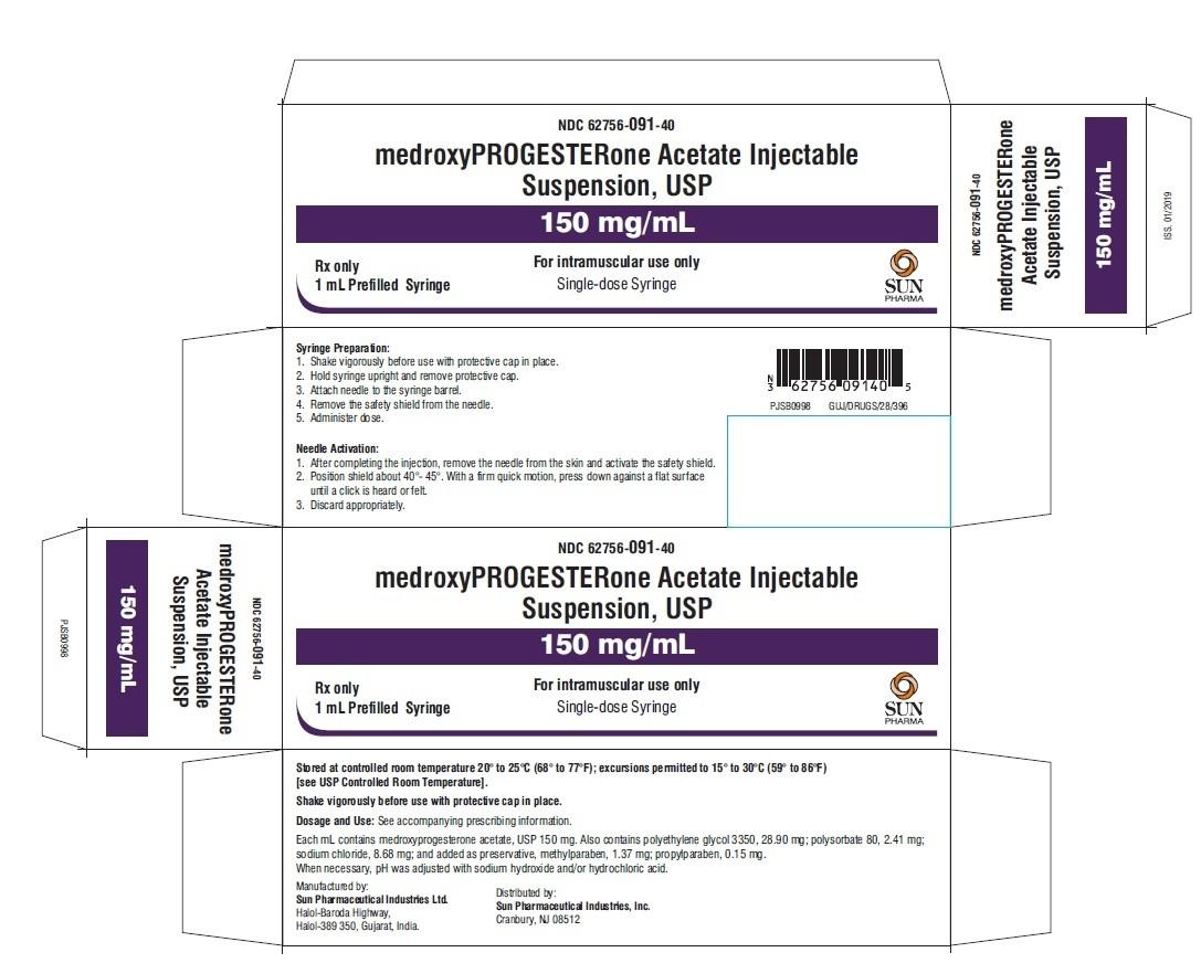 Ndc 62756-091 Medroxyprogesterone Acetate  Ndc Code Depo Provera 2020
