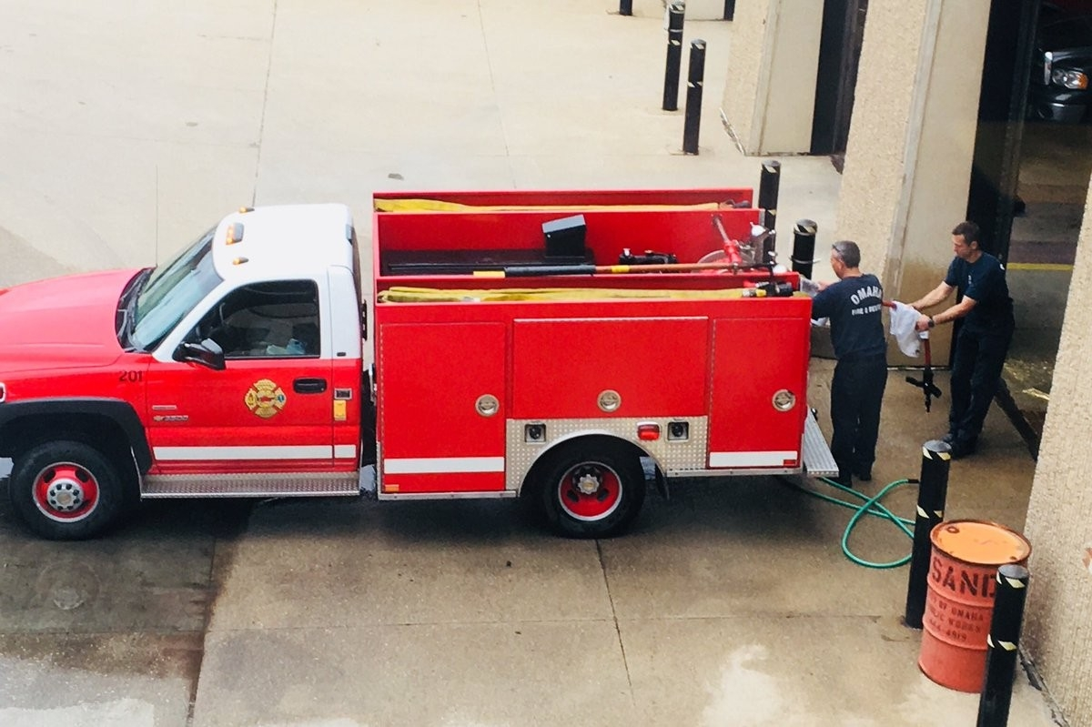 "Omaha Fire Dept On Twitter: ""b-Shift Crews Cleaning Up E201  Omaha Fire Department Shift Schedule"