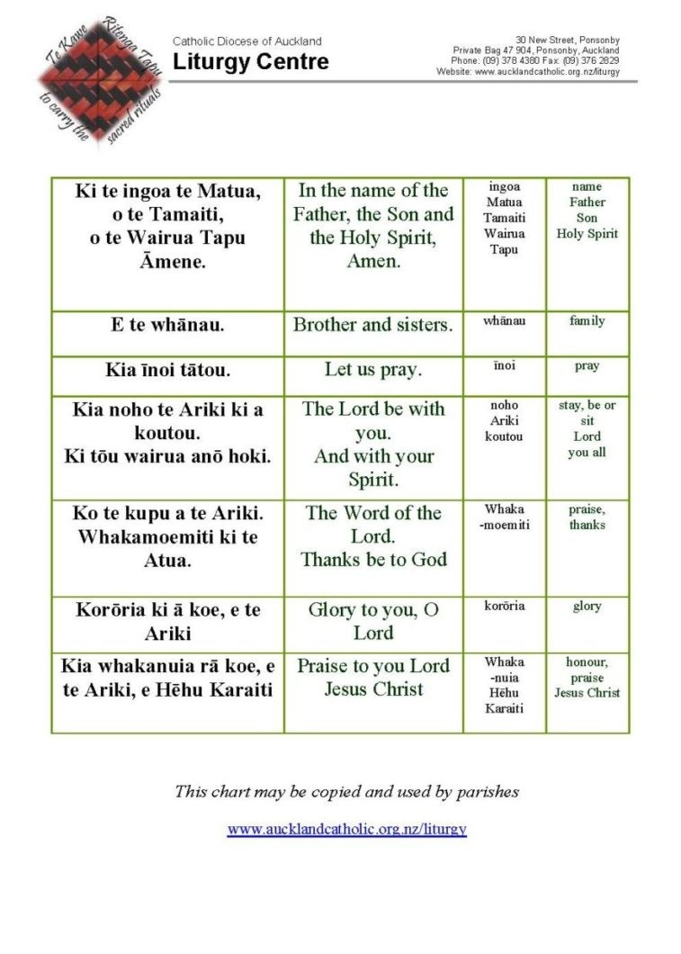 Preparation Material And Liturgy Outlines - Catholic Diocese  Liturgical Calendar Lesson Catholic