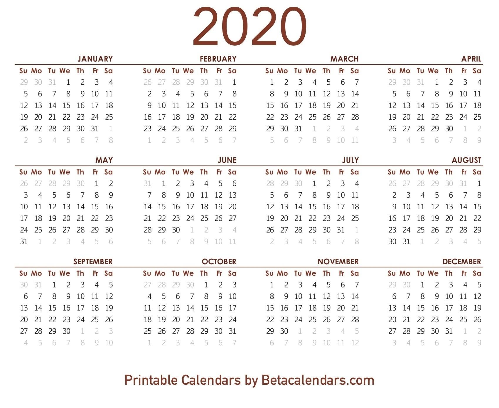 Printable 2020 Lunar Calendar | Monthly Printable Calender  2020 Solar Calendar Vs Lunar Calendar
