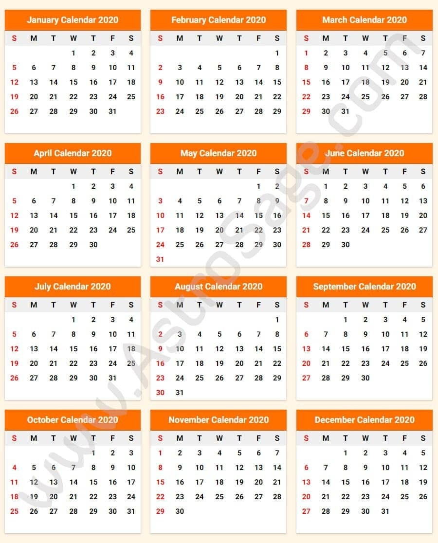 Printable Calendar 2020 With Holidays - Download Free  2020 Solar Calendar Vs Lunar Calendar