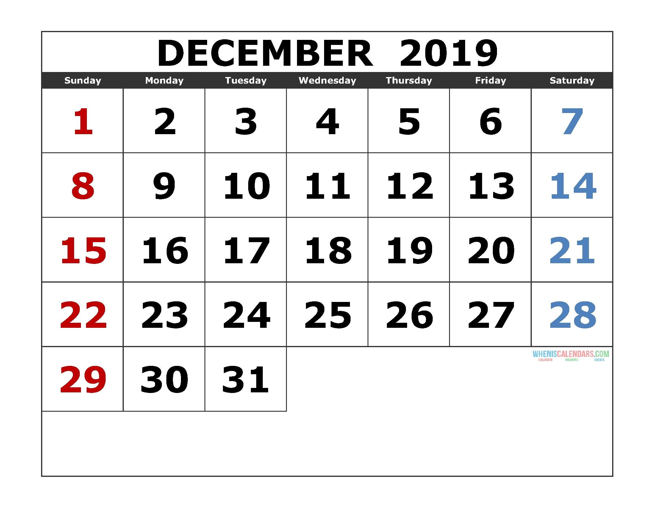 Printable Calendar – Free Printable 2020 Monthly Calendar  3 Month Calendar Free Print