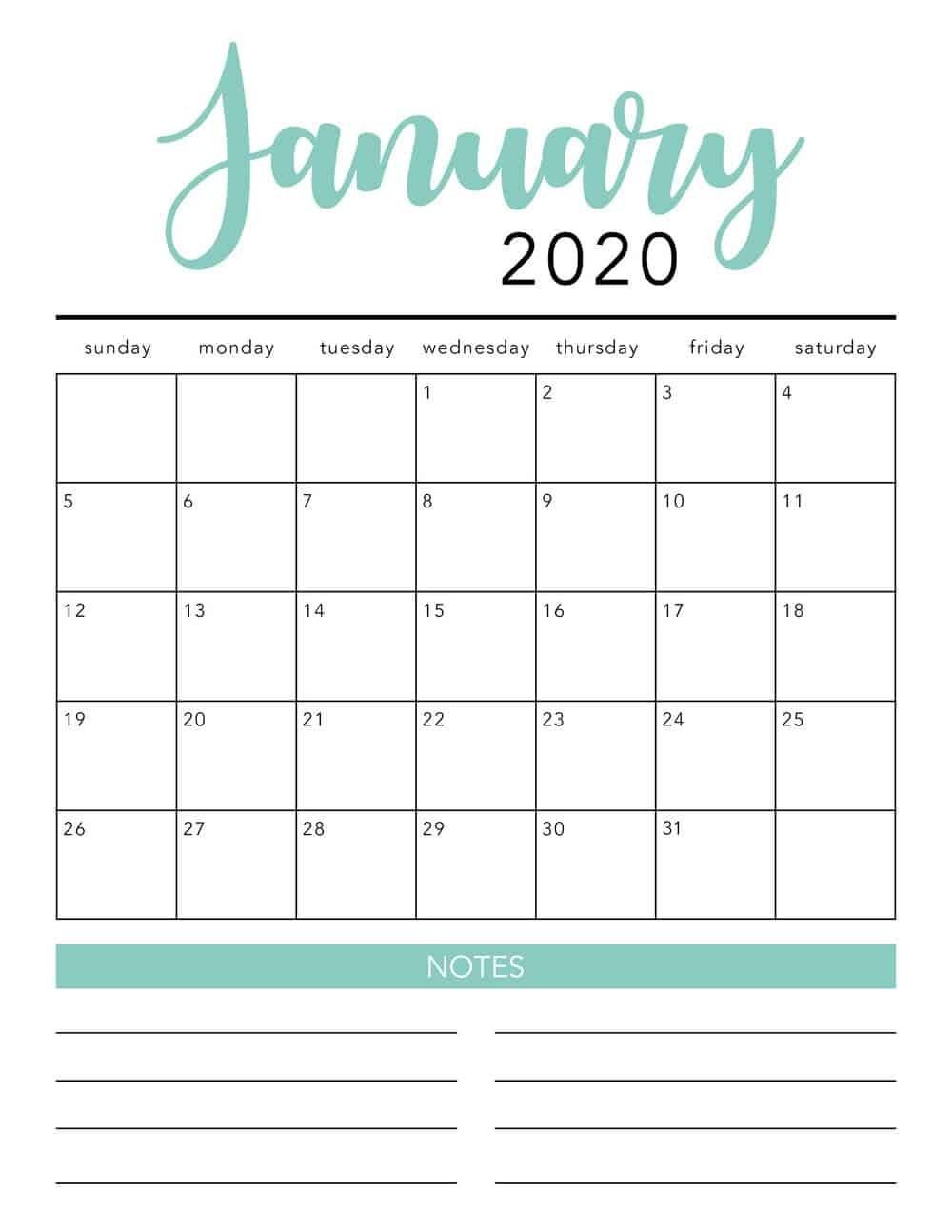 Printable Calendars Free 2020 - Akali  Free Bill Pay Calendar 2020