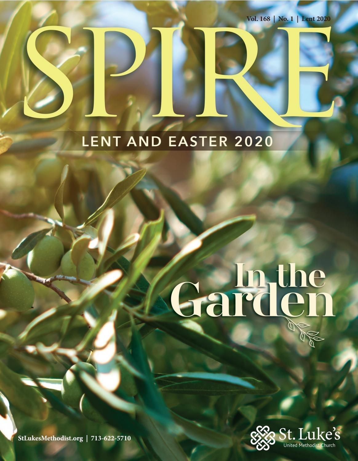 Spire - Lent 2020St. Luke's Umc - Issuu  Umc Lent 2020