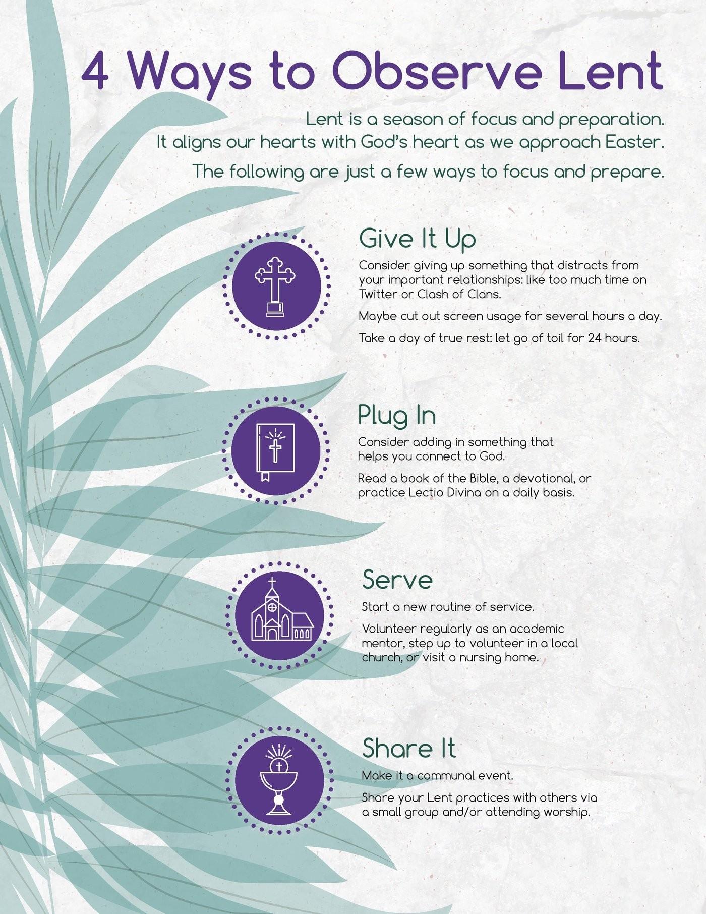 The Lenten Season  Methodist Lent 2020 Colors